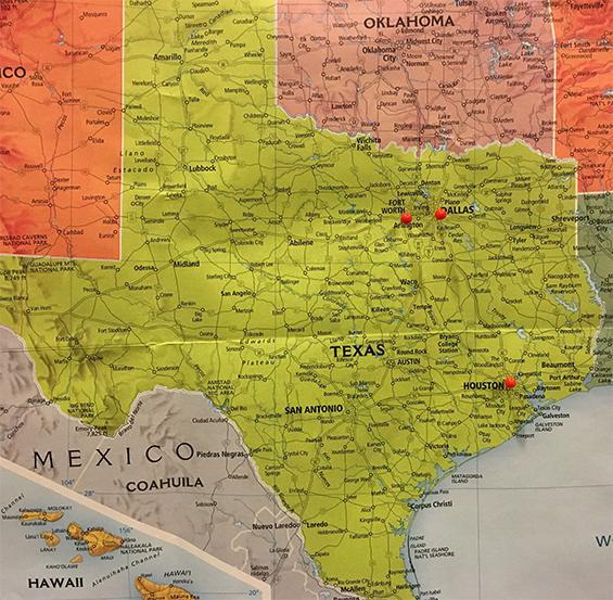 TX Map